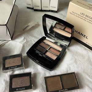 Chanel Beauty kit: make up case,eye shadow pallet+